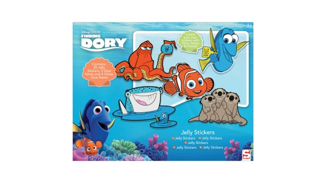 Finding Dory Jelly Sticker