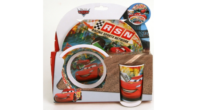 Disney 8726390 Cars Melamine Set 3-delig