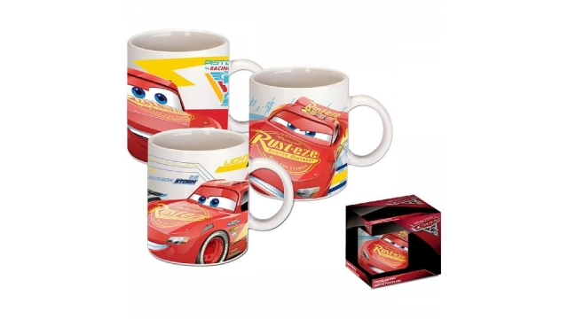 Disney Cars 3 Mok Porselein Assorti