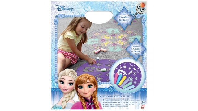 Disney Frozen Stoepkrijt Set