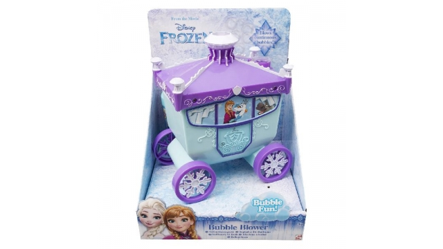 Disney Frozen Elsa Koets Bellenblaas Machine + 100ml Bellenblaas