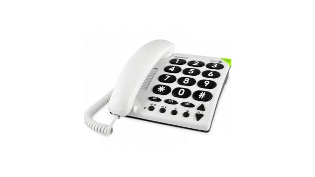 Doro Phone Easy 311C Big Button Telefoon Wit