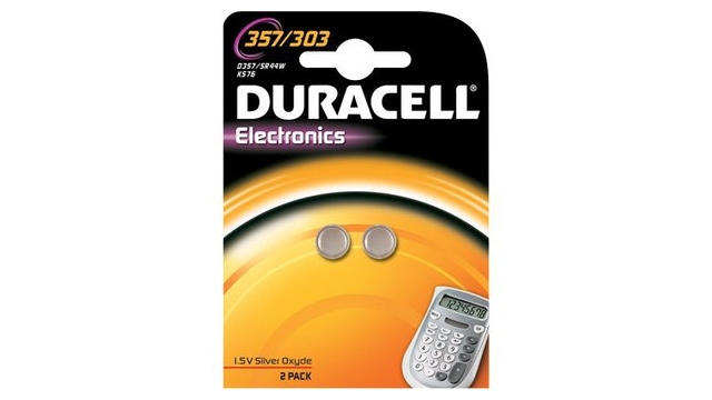 Duracell Knoopcel Silv D357 A2