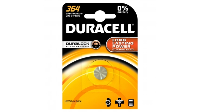 Duracell Knoopcel Silv D364
