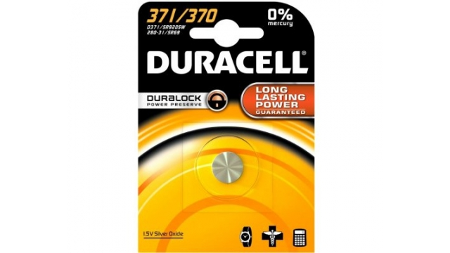 Duracell Knoopcel Silv D371