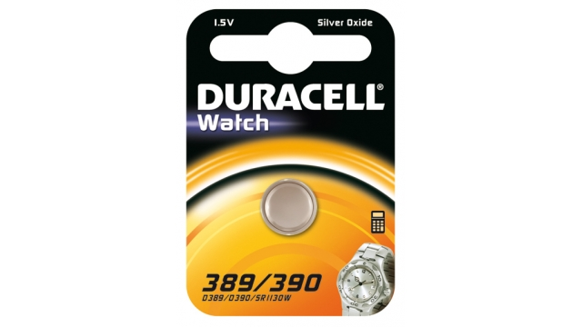 Duracell Knoopcel Silv D390