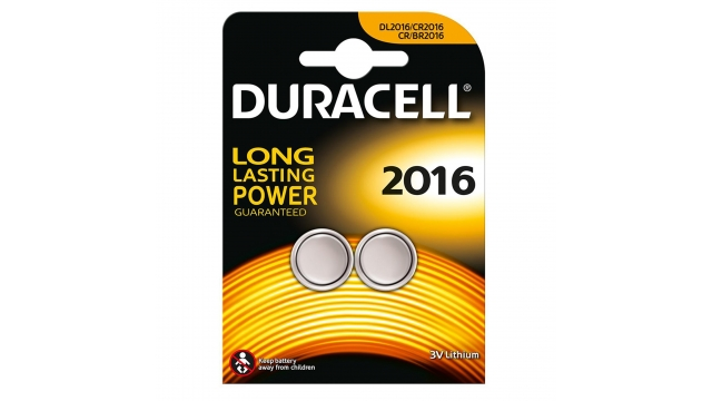 Duracell Knoopcel Lith A2 2016