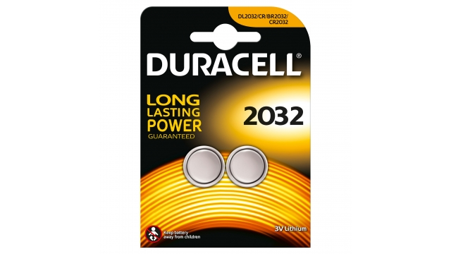 Duracell Knoopcel Lith A2 2032