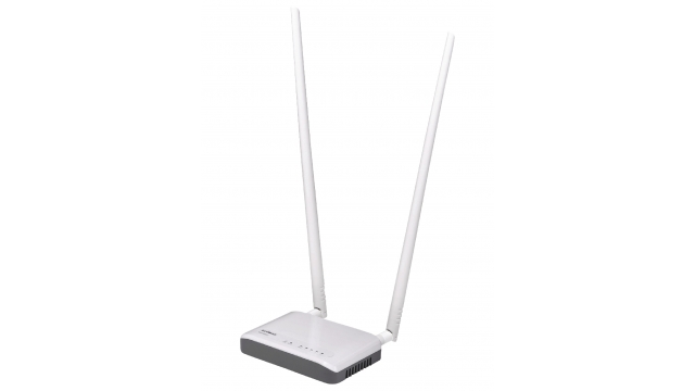 Edimax BR-6428NC Draadloze Router N300 2.4 Ghz 10/100 Mbit Wit