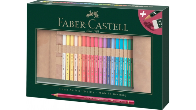Faber Castell FC-110030 Roletui Faber-Castell Polychromos Potloden 30 Stuks