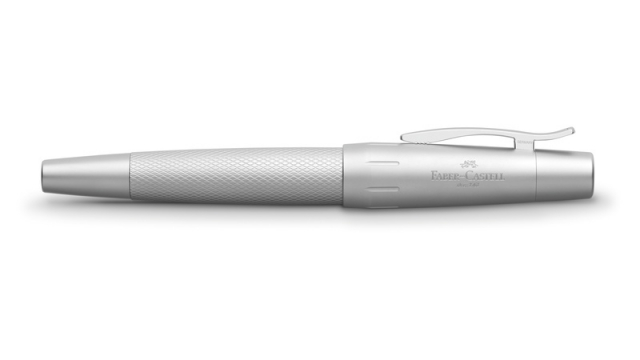 Faber Castell FC-148675 Rollerbal Faber-Castell E-motion Pure Silver