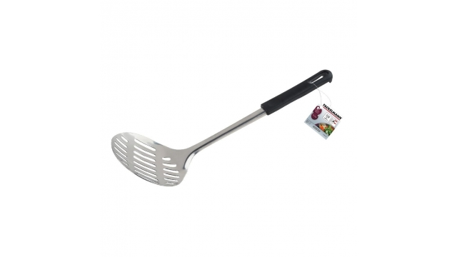 Fackelmann Food and More Opscheplepel 33 cm Zwart PP/RVS