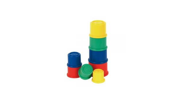Fisher Price Stapelbekers 8 Bekertjes