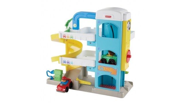 Fisher Price Little People Garage + 2 Auto's