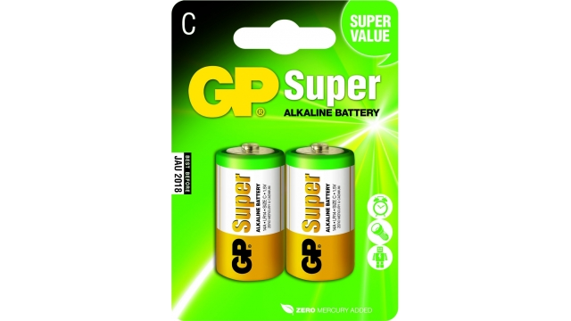 GP Batteries Gp Batterij Super Alkaline C A2