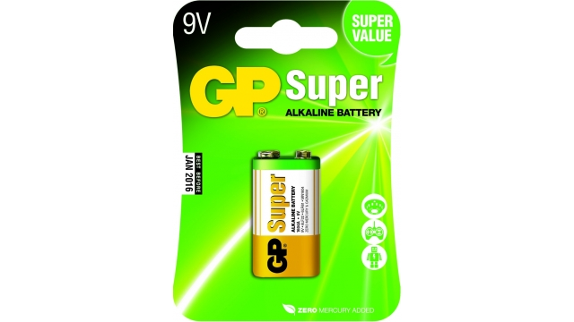 GP Batteries Gp Batterij Super Alkaline 9v A1