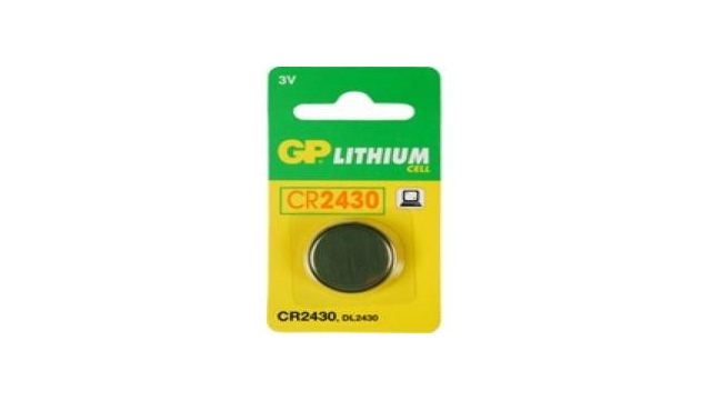 GP Batteries Knoopcel CR2430 lituim 3V