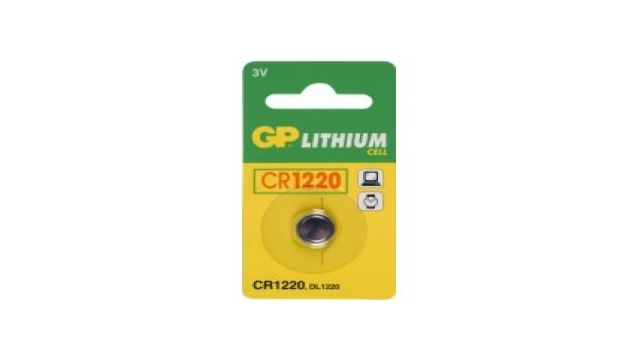 GP Batteries Knoopcel CR1220 lituim 3V