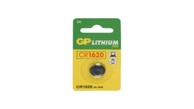 GP Batteries Knoopcel CR1620 lituim 3V
