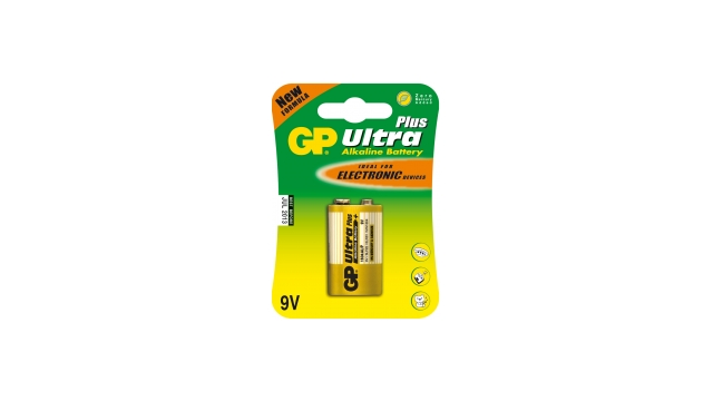 GP Batteries 1604AUP Alkaline E 9V