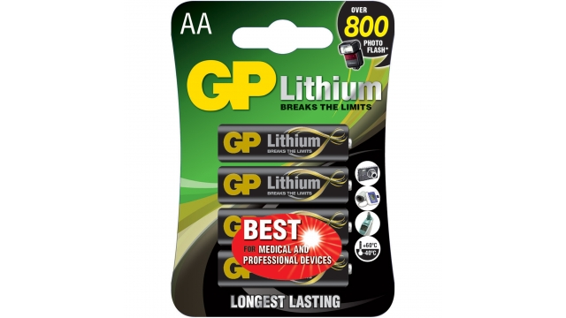 GP Batteries Gp Batterij Primary Lithium Aa A4