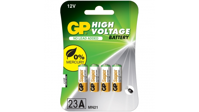 GP Batteries Gp Spec Batterij Alk A4st 12v Mn21