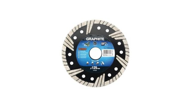Graphite 57H625 Diamantschijf 115x22x6,0x2,4mm, Turbo, MPA EN13236