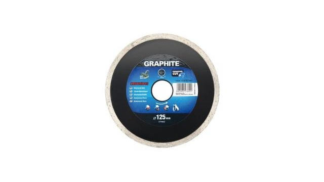 Graphite 57H874 Diamantschijf 200x22x6,0x2,5mm, Continuous, MPA EN13236