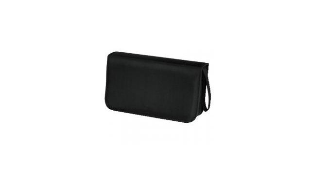 Hama CD Wallet Nylon 80 Zwart
