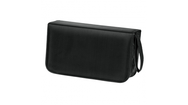 Hama Cd Wallet Nylon 120,Zwart