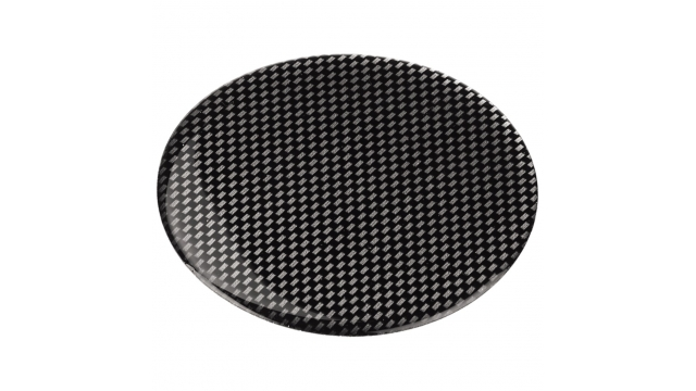 Hama Contactadapterpad Zelfklevend Carbon Flexible 85mm