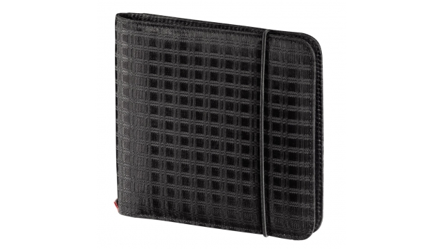 Hama Rfb Cd/Dvd Wallet 24 Zwart