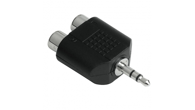 Hama Audio Adapter 3.5mm Jack - 2 Cinch Stereo