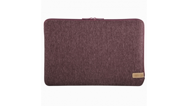 Hama Notebook-sleeve Jersey Tot 36 Cm (14,1) Donkerrood