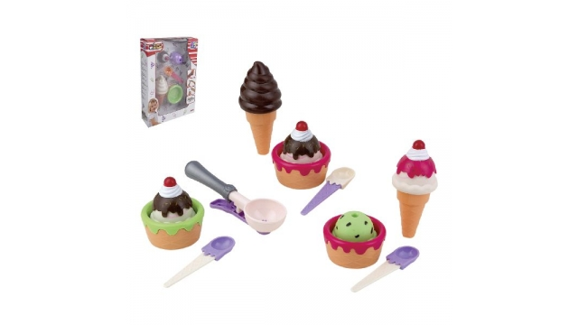 Happy People Ice Cream Set Assorti