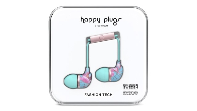 Happy Plugs Hoofdtelefoon Botanica Exotica In-Ear