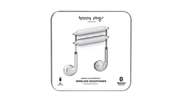 Happy Plugs Hoofdtelefoon Earbud Plus II BT Wit