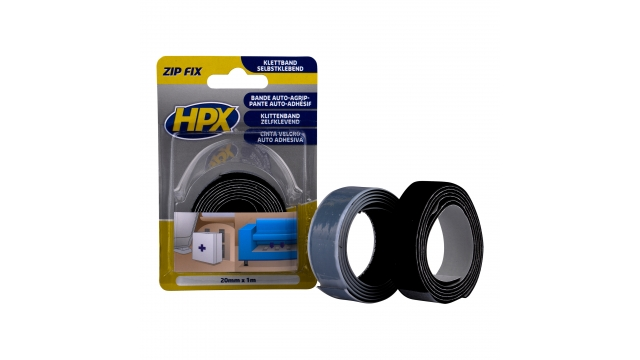 HPX Zip Fix Klittenb. 20mmx1m
