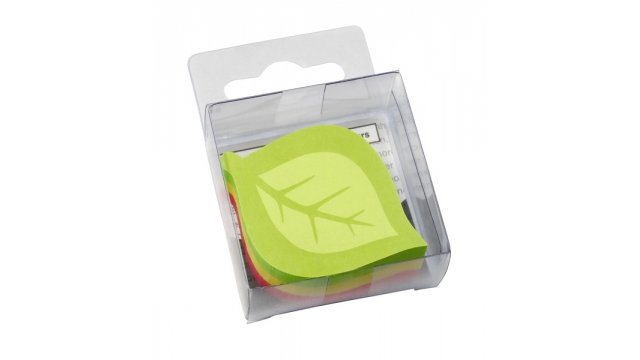 Info Notes IN-5845-39 Info Shaped Sticky Notes 50x50mm Assorti 225 Vel, Model Boomblad