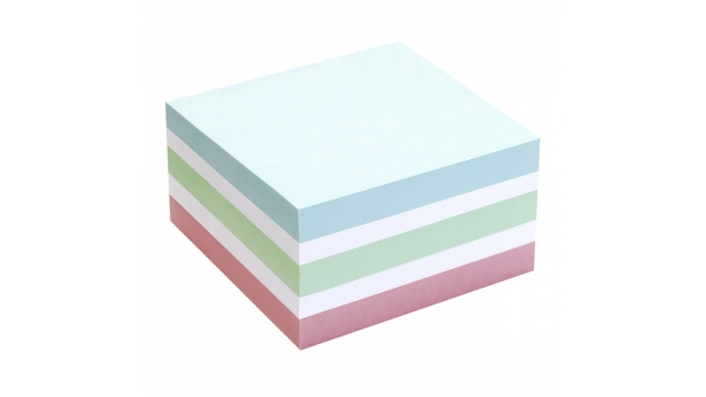 Info Notes IN-5654-65 75x75mm Assorti Pastel Blok A 400 Vel