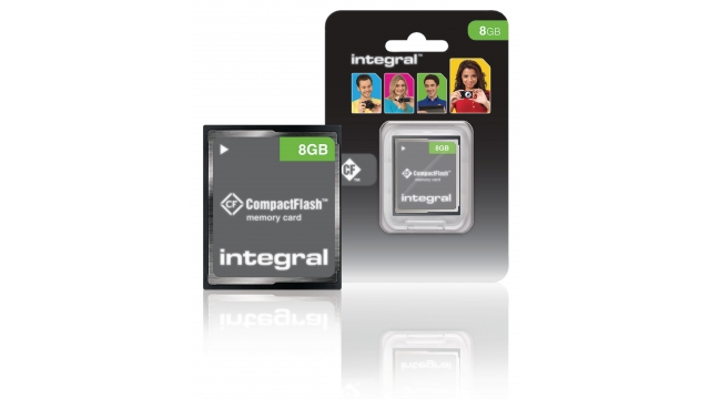 Integral INCF8GV2 Cf (compact Flash) Geheugenkaart 8 Gb