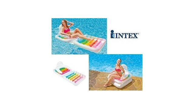 Intex 58847 Folding Lounge Chair 2in1 Luchtbed + Stoel