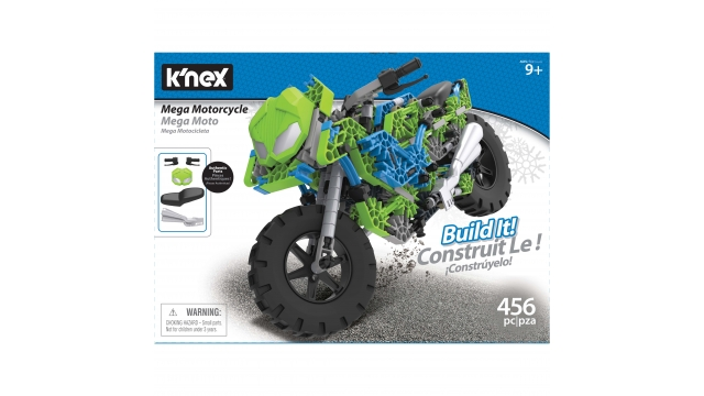 Knex Mega Motorcycle Build It! Set 456-delig