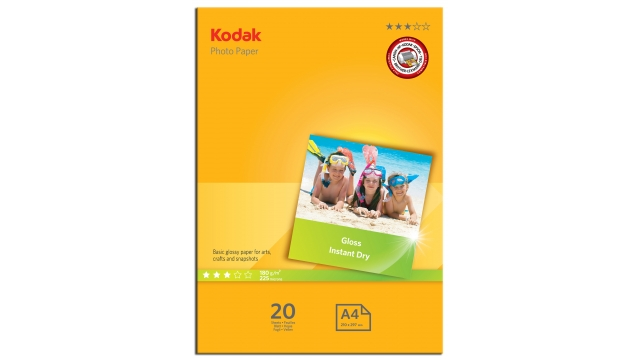 Kodak Photo A4 180gr 20 Vellen Glanzend