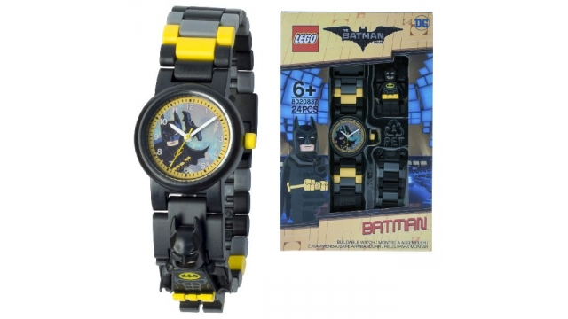 Lego Batman Movie Horloge met Minifiguur
