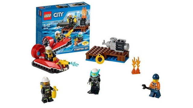 Lego City 60106 Brandweer Starter Set