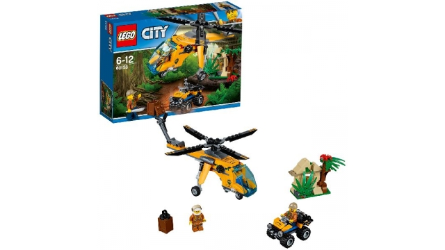 Lego City 60158 Jungle Explorers Vrachthelikopter