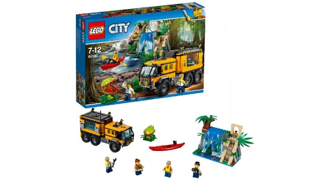 Lego City 60160 Jungle Explorers Mobiel Laboratorium