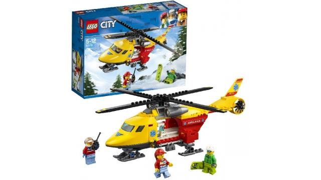 Lego City 60179 Ambulance Helikopter
