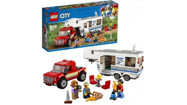 Lego City 60182 Pick-Up Truck en Caravan